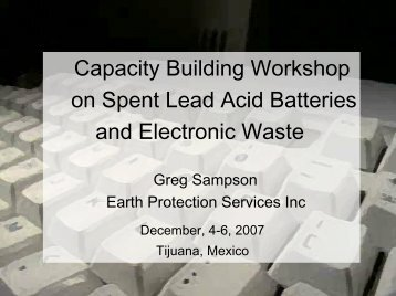 Dismantling: Demanufacturing of Electronics and Lamps Recycling