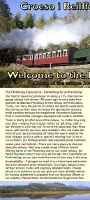 How to get here - Ffestiniog & Welsh Highland Railways - Page 2