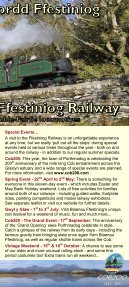 How to get here - Ffestiniog & Welsh Highland Railways - Page 3