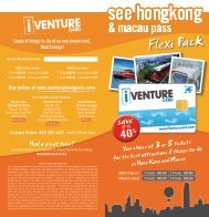Flexi Pack - Brochure - Hotel in Hong Kong