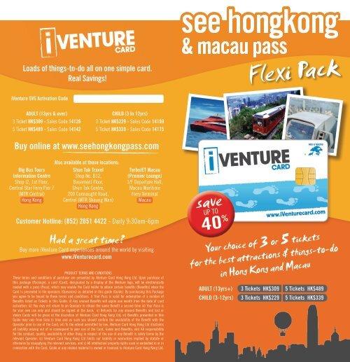 Flexi Pack - Brochure - Hotel in Hong Kong