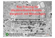 Ray-Tracing für Ultrabreitband-Kanäle – Vergleich mit Messungen ...