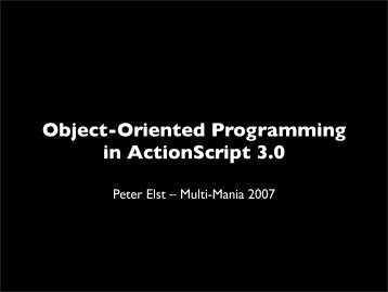 pitfalls of object oriented programming