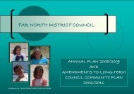 Annual Plan Full Document - Far North District Council