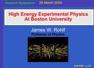 HEE CMS - Boston University Physics Department.