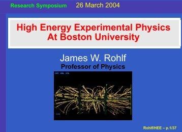 HEE CMS - Boston University Physics Department.