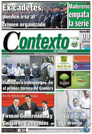 Madereros - Contexto de Durango