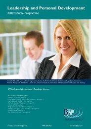 Leadership and Personal Development - Em-Online