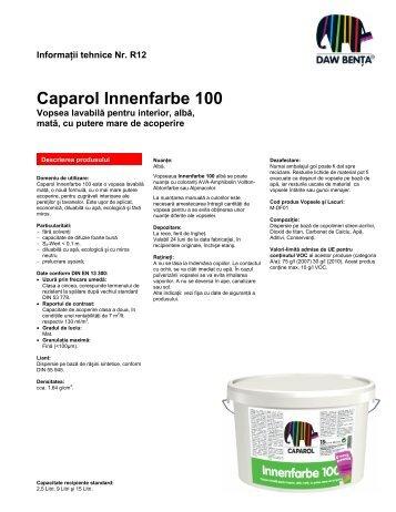 Vopsea Caparol Innenfarbe 100 - ProIdea