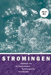 Stromingen-JRG19nr1 - Nederlandse Hydrologische Vereniging