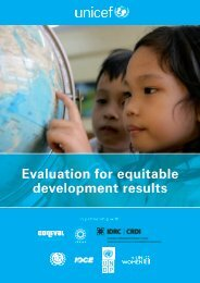 Evaluation for equitable development results - Capacity.org