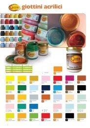 giottini acrilici - Cobea Colori