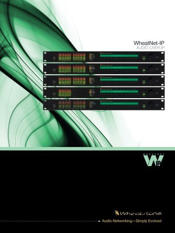 WheatNet-IP