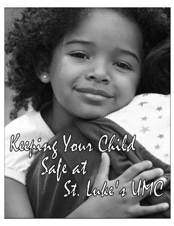 Children's Safety Policy - St. Luke's United Methodist Church