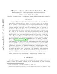 A Magnetic α ω Dynamo in Active Galactic Nuclei Disks - NMT Physics