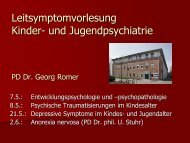 und Jugendpsychiatrie