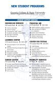 Orientation Book 2010 | Undergraduate Admissions | Georgia College - Page 2