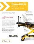 powered ambulance cot - Stryker - Page 2