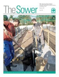 The Sower No. 169 - American Farm School