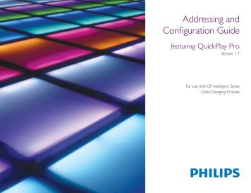 Addressing and Configuration Guide - Color Kinetics