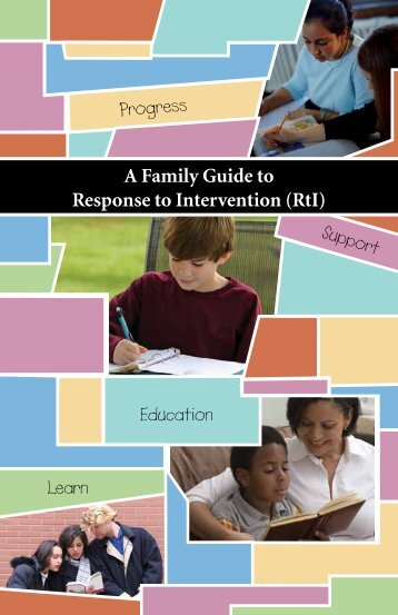 RtI - Parent Information Center on Special Education