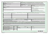 FR 045 - Anmeldelse af udrejse/Notification of leaving the ... - klxml