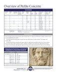Lightweight Concrete Mix Designs - Perlite Institute - Page 2