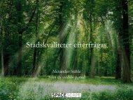 Alexander Ståhles presentation 12.3 MB pdf - SNS
