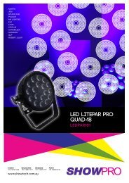 Quad-18 LEd LitEPaR PRo - Recycled Tech