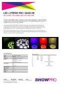 Quad-18 LEd LitEPaR PRo - Recycled Tech - Page 2