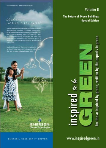 To be inspired - Inspired to be Green