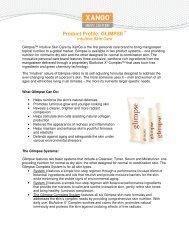 Product Profile: GLIMPSE - XanGo