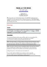 mql4 course - Free MetaTrader 4 Files - Expert Advisors, Indicators ...
