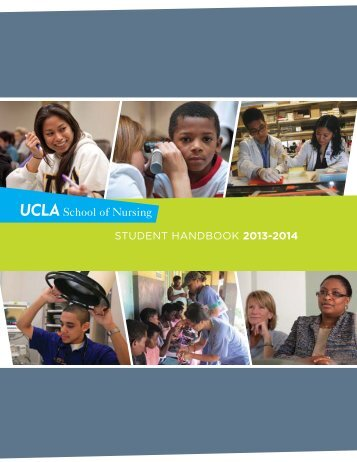 student handbook 2013-2014 - UCLA School of Nursing