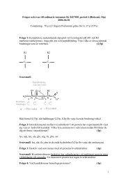 c) Hur lngt r det typiskt mellan donor och acceptor i en vtebindning