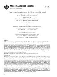 Experimental Investigation on the Effects of Audible ... - ResearchGate