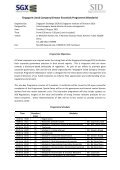 21 June 2011 Dear Sir / Madam Singapore Listed Company Director ... - Page 2