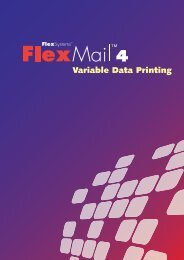 A Complete Solution for Variable Data Printing - Flex Systems