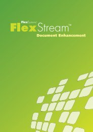 Document Enhancement - Flex Systems