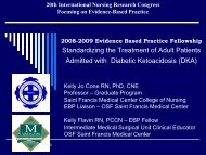 Evidence Based Practice Fellowship - IUPUI