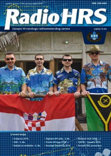 Radio HRS 1/10 - Hrvatski Radioamaterski Savez