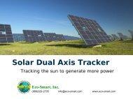 Solar Dual Axis Tracker - ECO-$MART Home