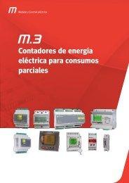 Contadores de energía eléctrica para consumos parciales - Circutor