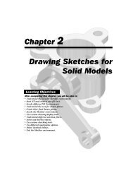 Chapter 2 Drawing Sketches for Solid Models