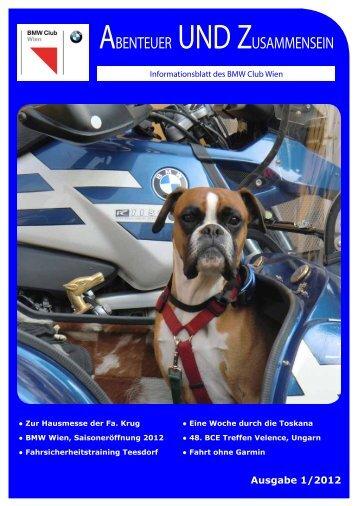 Clubzeitung 2012_1 - BMW Club Wien