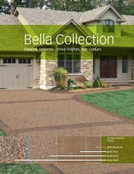Bella Collection - Triple H Concrete Products