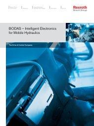 BODAS – Intelligent Electronics for Mobile Hydraulics - Bosch Rexroth