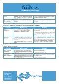 TeleForm Funksjoner og Fordeler - InfoShare Solutions - Page 4