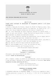 Atos Oficiais publicados em 20/03/2012 - Prefeitura de Vitória