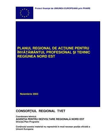 PRAI Nord-Est 2003-2010 - Agentia pentru Dezvoltare Regionala ...